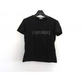 【中古】 アイスバーグ ICEBERG 半袖Tシャツ レディース 黒 JEANS
