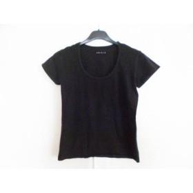 【中古】 セオリー theory 半袖Tシャツ レディース 黒