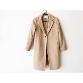 【中古】 ロペ ROPE コート サイズ36 S レディース ブラウン 冬物