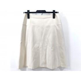 【中古】 セオリー theory スカート サイズ2 S レディース アイボリー