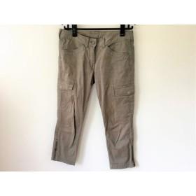 【中古】 プラステ PLS+T(PLST) パンツ サイズ2 M レディース ダークグリーン