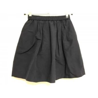 【中古】 シンゾーン Shinzone スカート サイズ36 S レディース ネイビー my D'artagnan