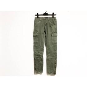 【中古】 ジェイブランド J Brand パンツ サイズ25 XS レディース カーキ カーゴ