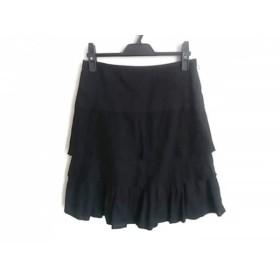 【中古】 ニジュウサンク 23区 スカート サイズ36 S レディース 美品 黒
