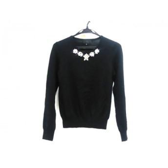 【中古】 アンタイトル UNTITLED 長袖セーター サイズ2 M レディース ブラック