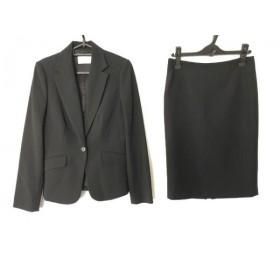 【中古】 エムプルミエブラック M-premierBLACK スカートスーツ サイズ38 M レディース 黒