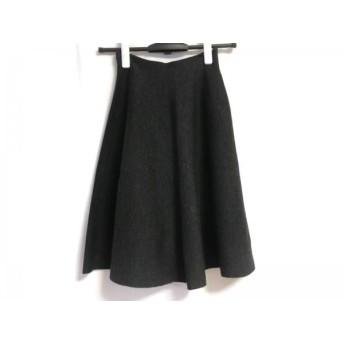 【中古】 デミリー demylee スカート サイズS レディース ダークグレー ニット
