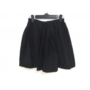 【中古】 フレイアイディー FRAY I.D スカート サイズ1 S レディース 黒