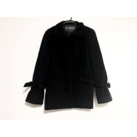 【中古】 ボディドレッシングデラックス BODY DRESSING Deluxe コート サイズ7 S レディース 黒 冬物