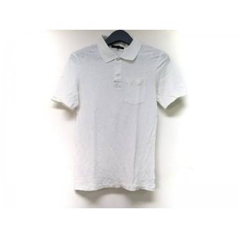 【中古】 セオリー theory 半袖ポロシャツ サイズ38 M レディース 白