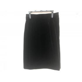 【中古】 イヴサンローラン YvesSaintLaurent スカート サイズ38 M レディース 美品 黒