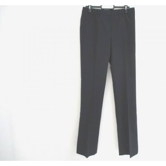 【中古】 セオリー theory パンツ サイズ2 S レディース 美品 ダークネイビー ライトグレー ストライプ