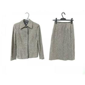 【中古】 ミッシェルクラン MICHELKLEIN スカートスーツ サイズ38 M レディース グレー