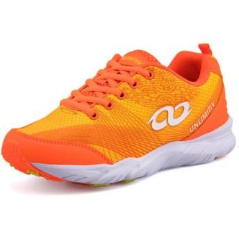 UNLIMITIV(アンリミティブ) キッズ スニーカー 0003 オレンジ 運動靴 ボーイズ