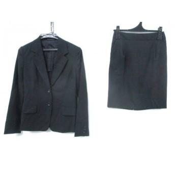 【中古】 イネド INED スカートスーツ サイズ9 M レディース 黒