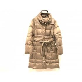 【中古】 ジユウク 自由区/jiyuku ダウンコート サイズ40 M レディース グレー 冬物