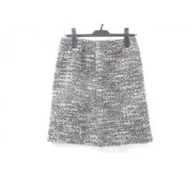 【中古】 ボールジー BALLSEY スカート サイズ38 M レディース グレー マルチ