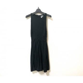 【中古】 ディーアンドジー D & G ワンピース サイズ40 M レディース 美品 黒