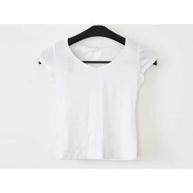 【中古】 ロペ ROPE ノースリーブTシャツ サイズM レディース 白