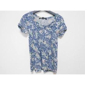 【中古】 マークバイマークジェイコブス 半袖Tシャツ サイズS レディース ネイビー グリーン マルチ