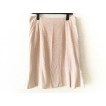 【中古】 ローズティアラ Rose Tiara スカート サイズ42 L レディース ピンク ラメ