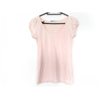 【中古】 ダズリン DAZZLIN 半袖Tシャツ サイズF レディース ピンク