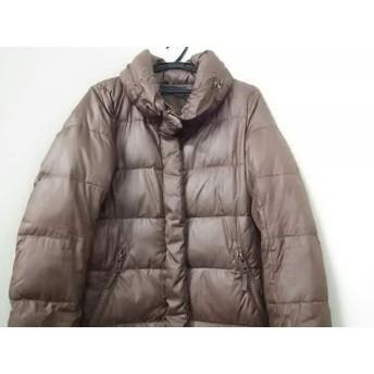 【中古】 マウジー moussy ダウンコート サイズ2 M レディース ブラウン 冬物