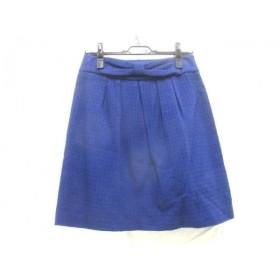 【中古】 ロペピクニック RopePicnic スカート サイズ38 M レディース ブルー