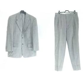 【中古】 ゴタイリク 五大陸/gotairiku シングルスーツ サイズ5M メンズ グレー ネーム刺繍