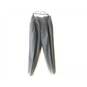 【中古】 ミラオーウェン Mila Owen パンツ サイズ1 S レディース グレー