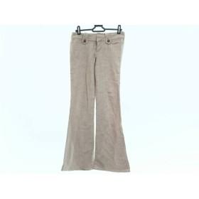 【中古】 ピンキー&ダイアン Pinky & Dianne ジーンズ サイズ34 S レディース ベージュ jeans