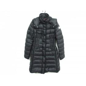 【中古】 モンクレール MONCLER ダウンコート サイズ00 XS レディース HERMINE(エルミンヌ) 黒 冬物