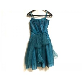 【中古】 エメ aimer ドレス サイズ2 M レディース ブルーグリーン