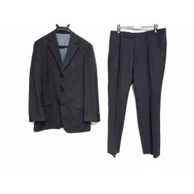 【中古】 ヒューゴボス HUGOBOSS シングルスーツ サイズ048 XL メンズ 黒