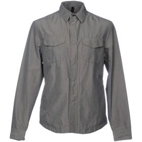 《期間限定 セール開催中》AQUARAMA メンズ シャツ 鉛色 50 ナイロン 100%