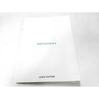 【中古】 ルイヴィトン LOUIS VUITTON 小物 白 アドレス帳/世界地図 ペーパー