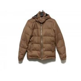 【中古】 シップスジェットブルー ダウンジャケット サイズM レディース ライトブラウン 冬物