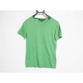 【中古】 マークバイマークジェイコブス 半袖Tシャツ サイズS レディース グリーン 黒