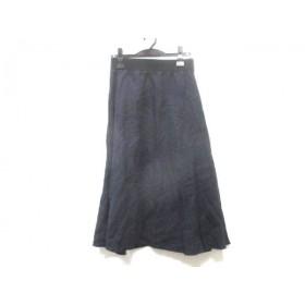 【中古】 ボディドレッシング BODY DRESSING ロングスカート サイズ36 S レディース ネイビー