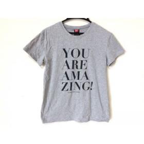 【中古】 ダブルスタンダードクロージング 半袖Tシャツ サイズF レディース ライトグレー