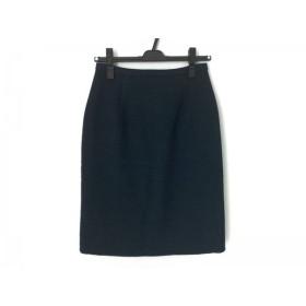 【中古】 オールドイングランド OLD ENGLAND スカート サイズ36 S レディース ネイビー