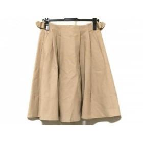 【中古】 トゥモローランド TOMORROWLAND スカート サイズ34 S レディース ベージュ MACPHEE