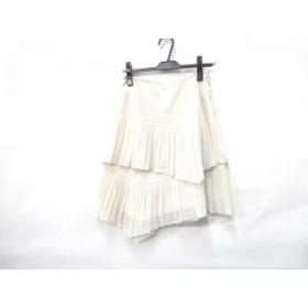 【中古】 インディビ INDIVI スカート サイズ38 M レディース アイボリー