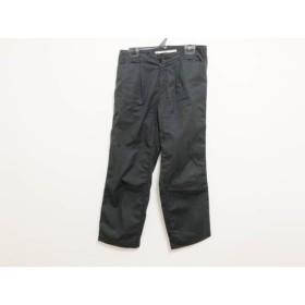 【中古】 シンゾーン Shinzone パンツ サイズ34 S レディース 黒 THE SINZONE 綿