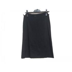 【中古】 プラダ PRADA スカート サイズ40 M レディース 黒