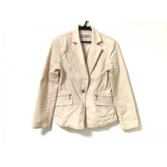 【中古】 ヴァンドゥ オクトーブル 22OCTOBRE ジャケット サイズ40 M レディース ピンク
