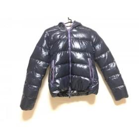 【中古】 デュベティカ DUVETICA ダウンジャケット サイズ40 M レディース Thia ダークネイビー 冬物