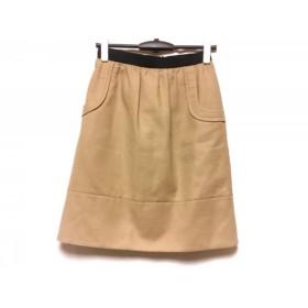 【中古】 エポカ EPOCA スカート サイズ40 M レディース ベージュ 黒
