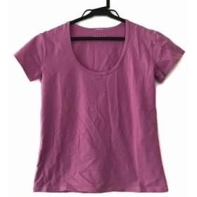 【中古】 セオリー theory 半袖Tシャツ サイズ4 S レディース ピンク