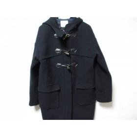 【中古】 スライ SLY ダッフルコート サイズ2 M レディース 美品 ネイビー 冬物